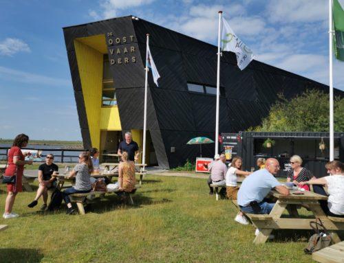 Nieuw terras met kiosk geopend bij Natuurbelevingcentrum de Oostvaarders