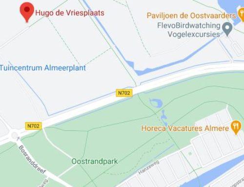 Nieuwe rotonde Oostvaarders Almere
