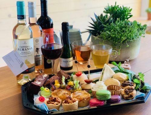 High tea & High wine at home: vanaf 2 personen afhalen voor thuis