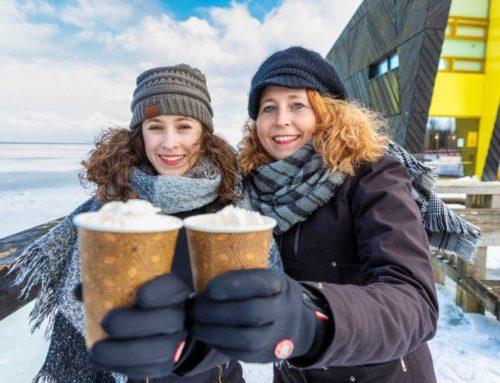 Winterkiosk geopend!